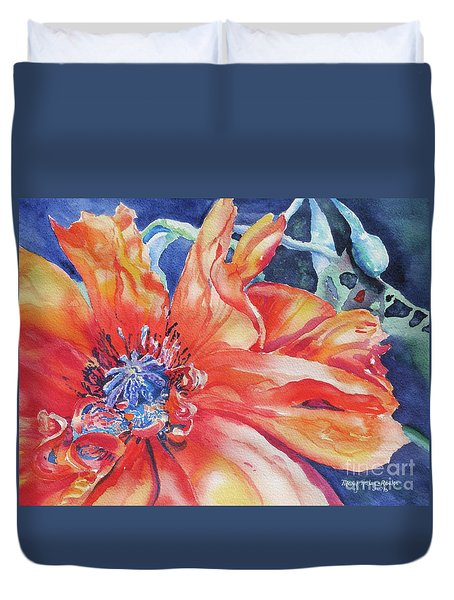 The Dance Duvet Cover by Mary Haley-Rocks