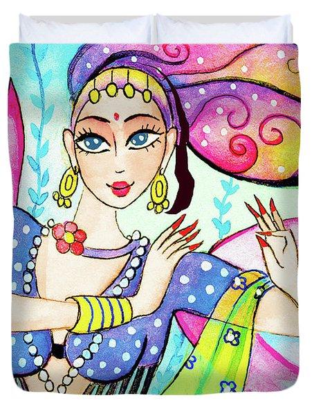The Dance Of Pari Duvet Cover