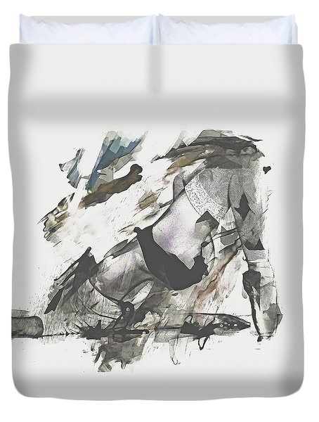 The Dancer Duvet Cover