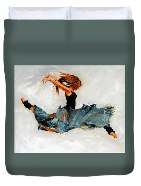 The Dancer No. 5 Duvet Cover