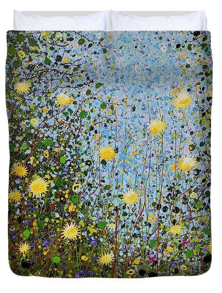 The Dandelion Patch Duvet Cover