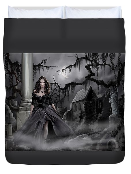 The Dark Caster Comes Duvet Cover