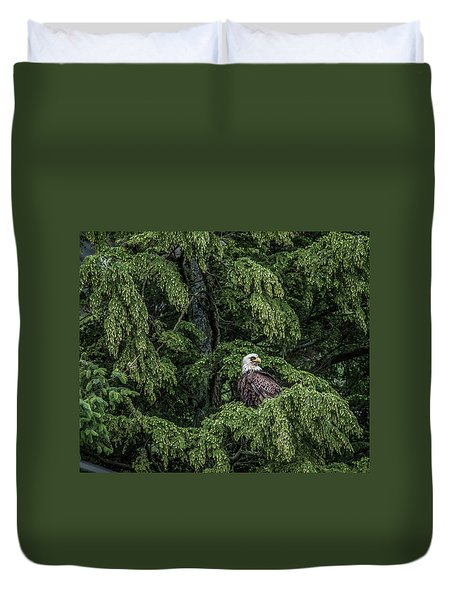 The Dark Eyed One Duvet Cover