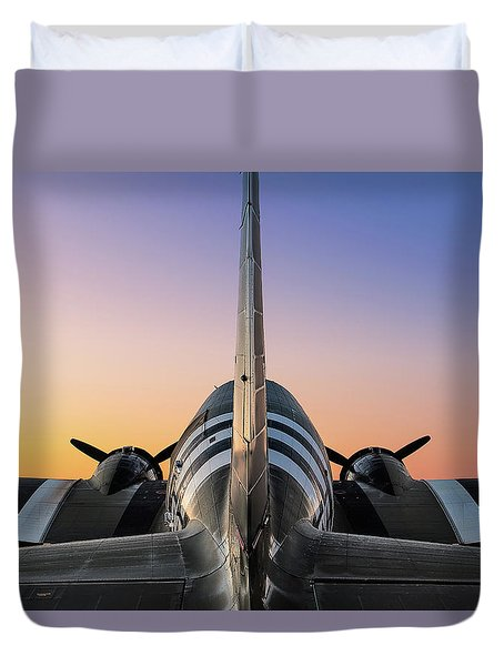 The Dawn Of Victory Duvet Cover