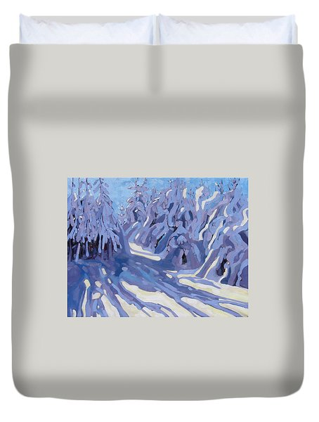 The Day After The Storm Duvet Cover