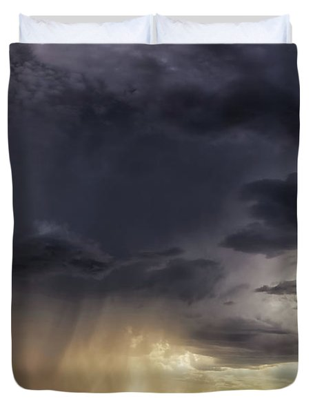 The Day It Rained Duvet Cover