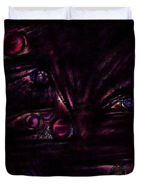 The Deceiver Duvet Cover by Rachel Christine Nowicki
