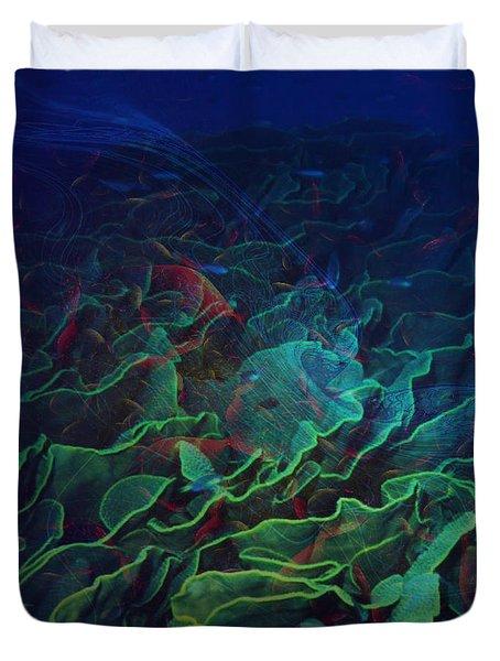 The Deep Duvet Cover