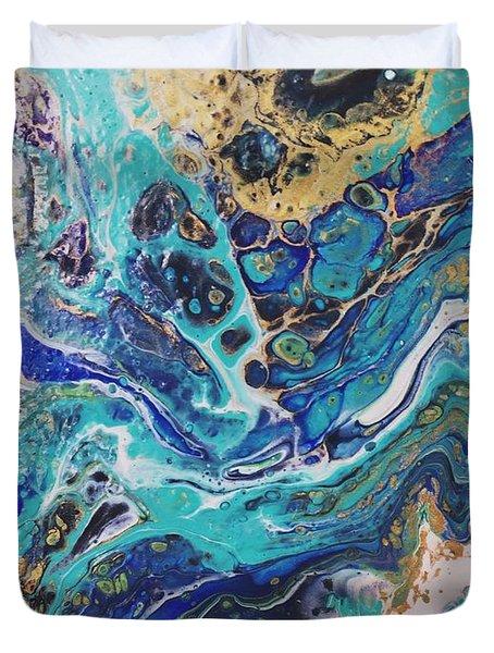 The Deep Blue Sea Duvet Cover