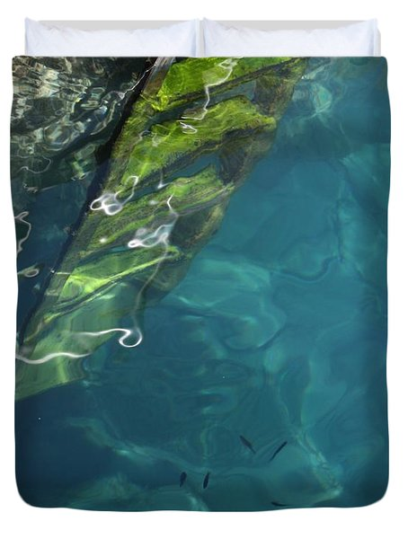 The Deep Duvet Cover by Pat Purdy