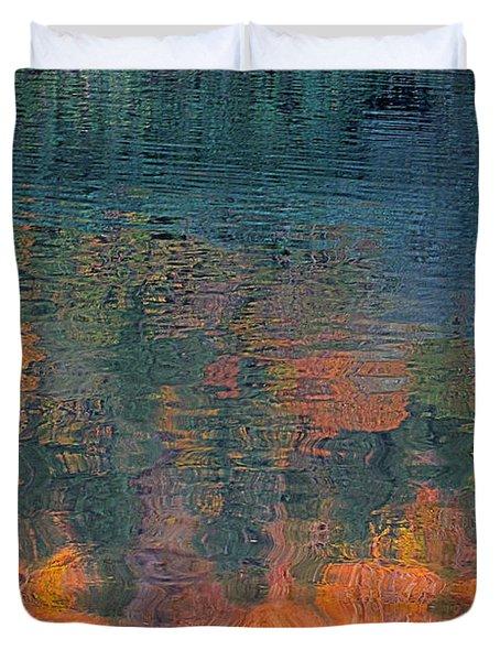 The Deep Duvet Cover by Suzy Piatt