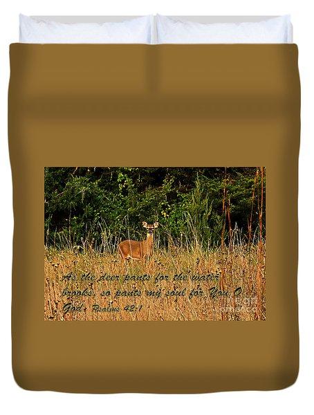 The Deer Duvet Cover
