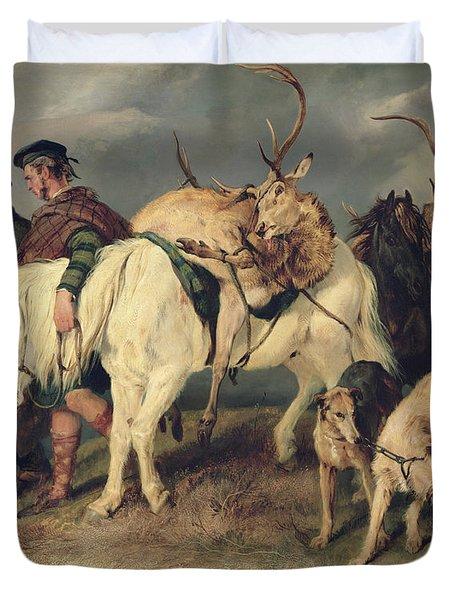 The Deerstalkers Return Duvet Cover