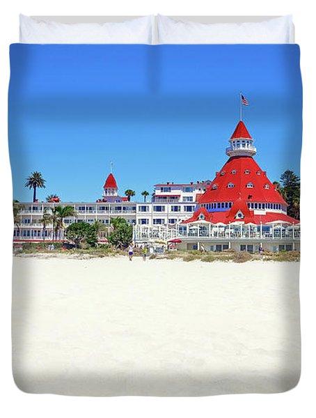 The Del Coronado Hotel San Diego California Duvet Cover