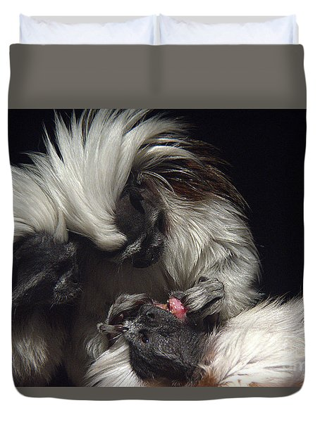 Duvet Cover featuring the photograph The Dentist by Lisa L Silva