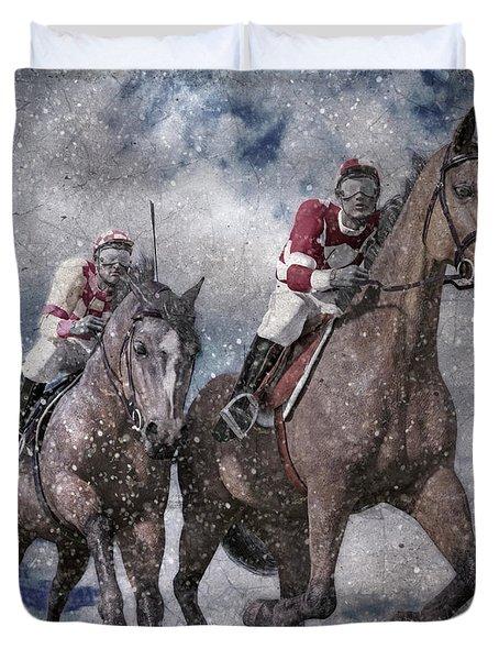 The Derby Duvet Cover