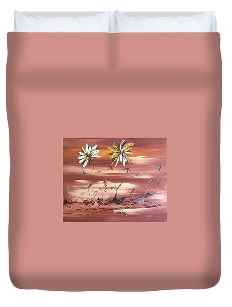 The Desert Garden Duvet Cover by Pat Purdy