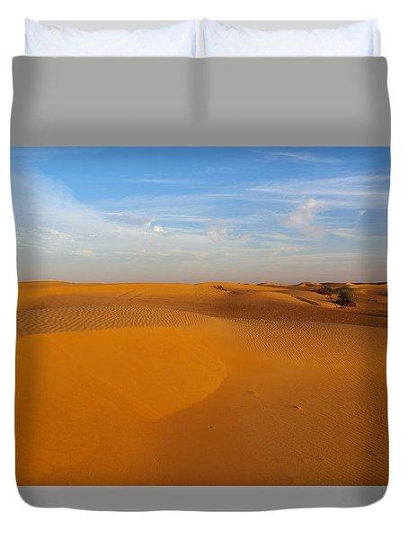 The Desert  Duvet Cover