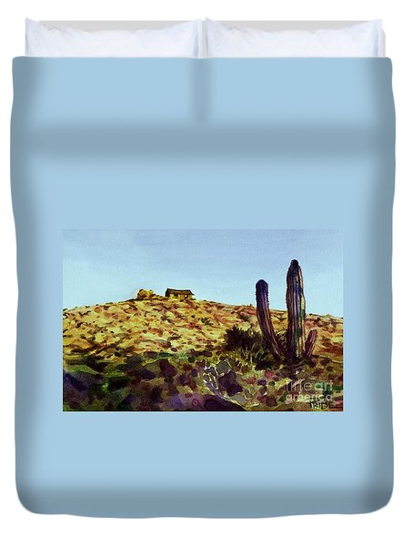 The Desert Place Duvet Cover