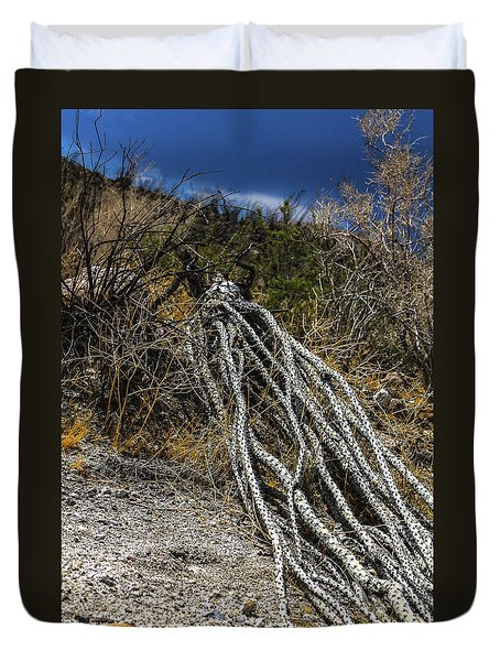 The Desert Sentinel Duvet Cover