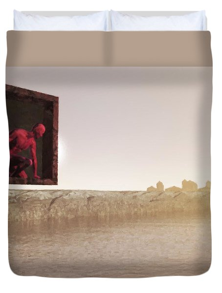 The Destroyer Cometh Duvet Cover