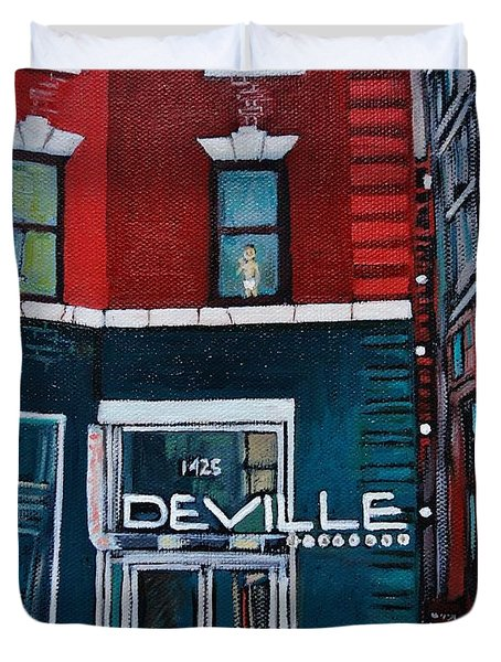 The Deville Duvet Cover