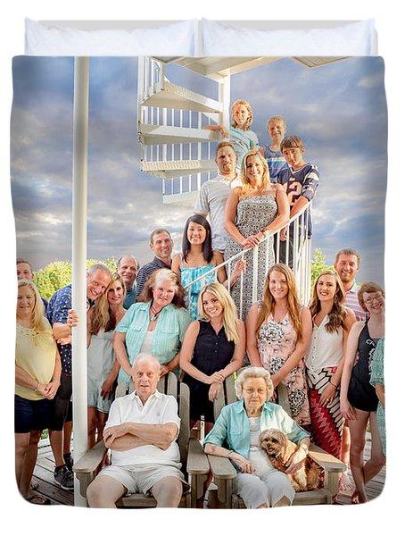 The Dezzutti Family Duvet Cover
