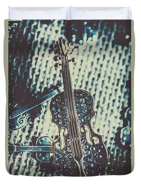 The Diamond Symphony Duvet Cover