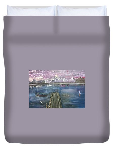 The Dock Duvet Cover by Debbie