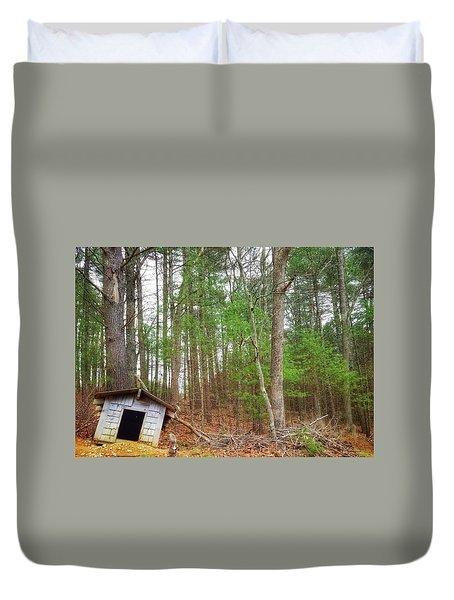 The Doghouse  Duvet Cover