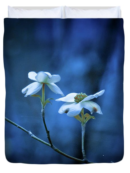 The Dogwoods Are Blooming Duvet Cover