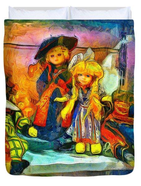 The Dolls Duvet Cover