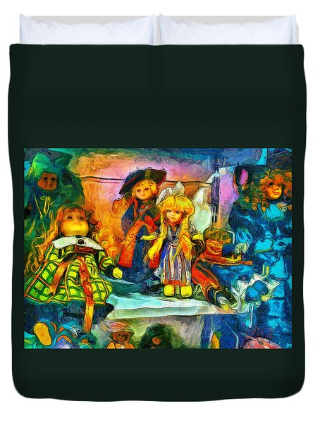 The Dolls Duvet Cover