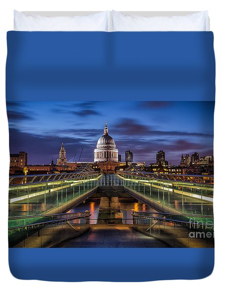 The Dome Duvet Cover by Giuseppe Torre