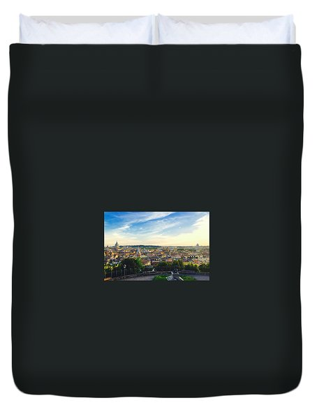 The Domes Of Rome Duvet Cover