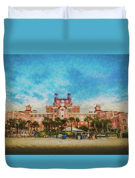 The Don Cesar Resort Duvet Cover