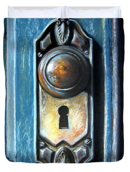 The Door Knob Duvet Cover