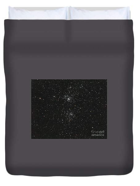 The Double Cluster Duvet Cover