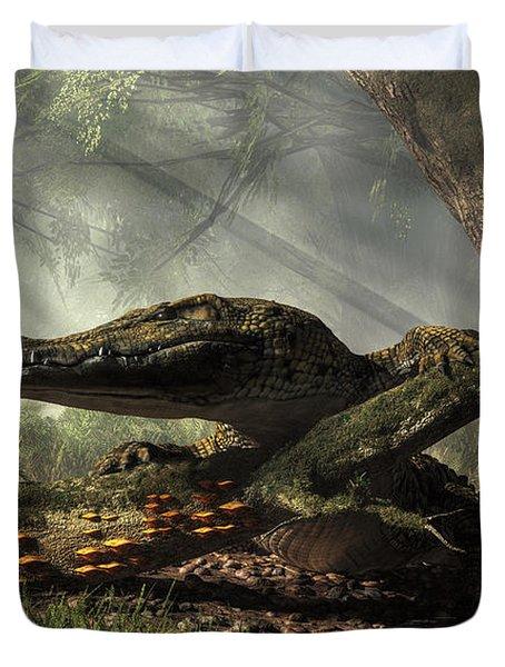 The Dragon Of Brno Duvet Cover