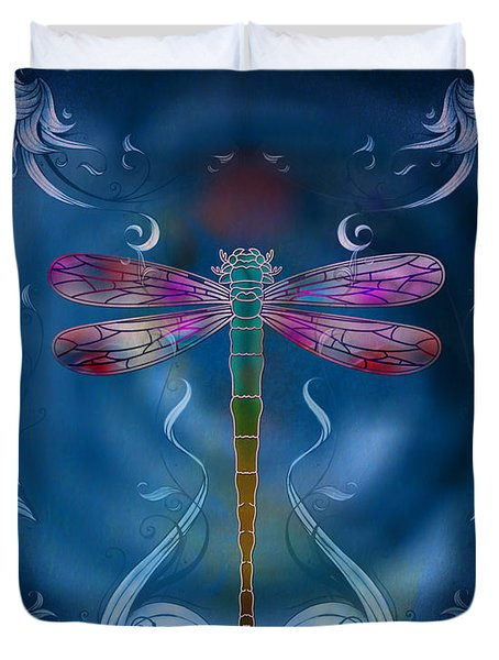 The Dragonfly Effect Duvet Cover