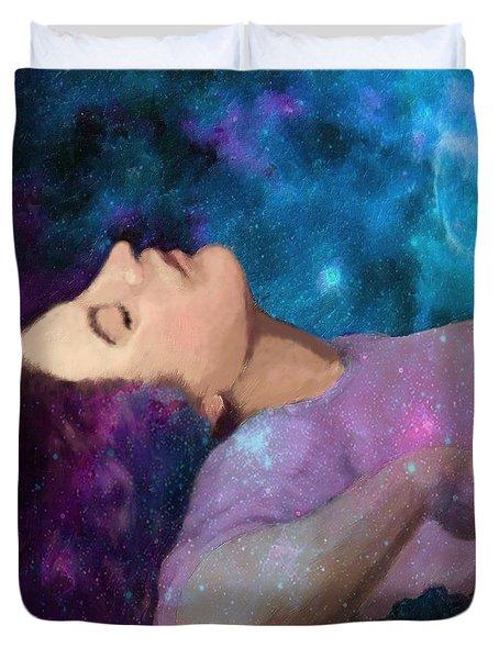 The Dreamer Duvet Cover