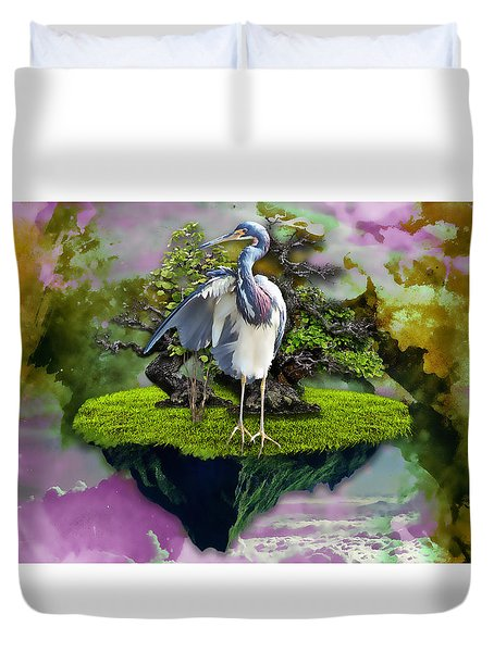 The Dreams That You Dreamed Of Duvet Cover