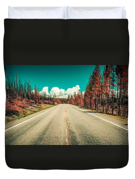 The Dried County Duvet Cover