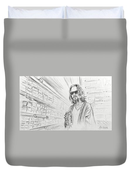 The Dude Abides Duvet Cover