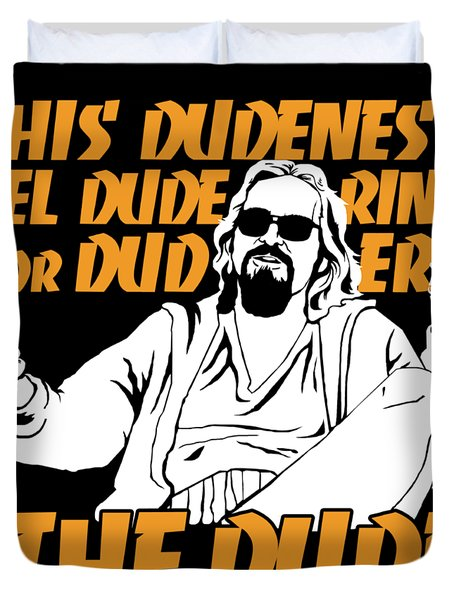The Dude Duvet Cover