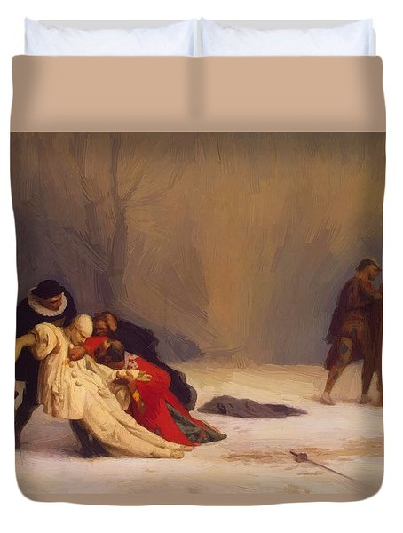 The Duel After The Masquerade Duvet Cover