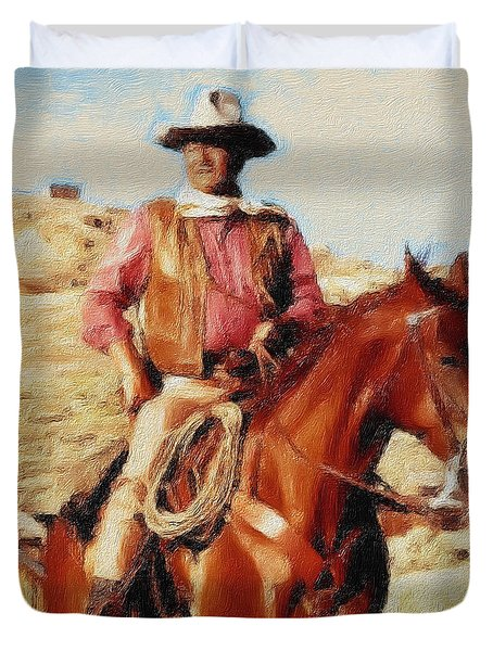 The Duke Duvet Cover