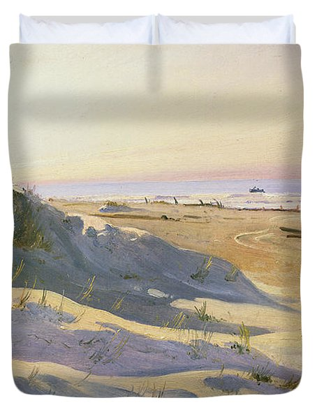 The Dunes Sonderstrand Skagen Duvet Cover by Holgar Drachman