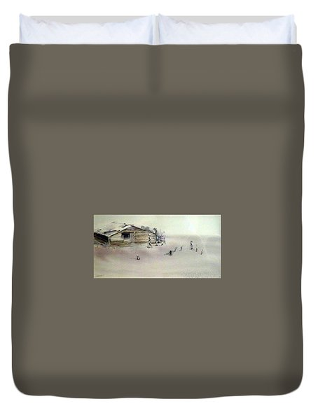 The Dustbowl Duvet Cover by Ed Heaton