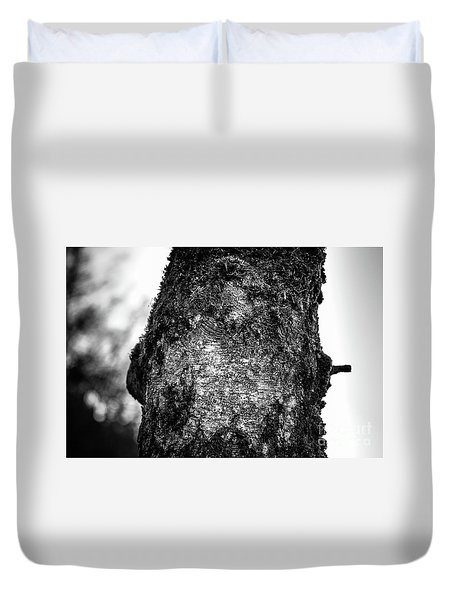 The Eagle In The Tree Duvet Cover